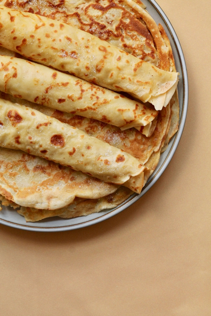 pancakes with oat milk / Pandekager med havredrik havremælk