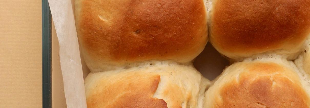 Veganske hveder - danish wheat buns