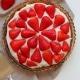 Vegansk jordbærtærte opskrift