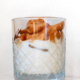 Dalgona iskaffe med havremælk