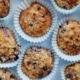 Veganske blåbærmuffins med crumble