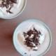 Vegansk varm kakao med flødeskum